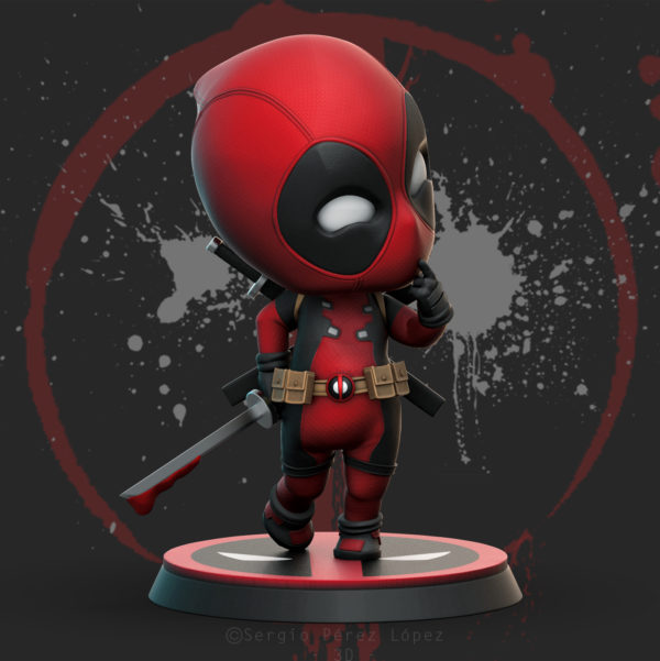 Dead Pool Chibi Fan Art